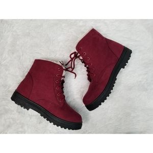 Suade boots